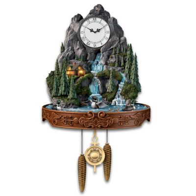 Call Of The North Wall Clock