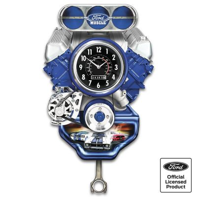 Ford Muscle Car Wall Clock