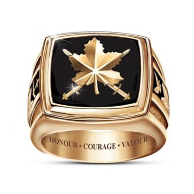 Honoured To Serve Ring
