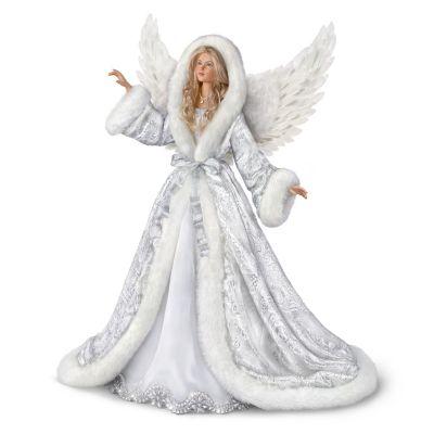 Silent Night Angel Portrait Doll