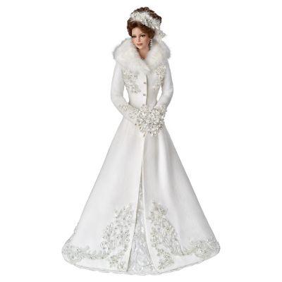 Winter Romance Bride Doll