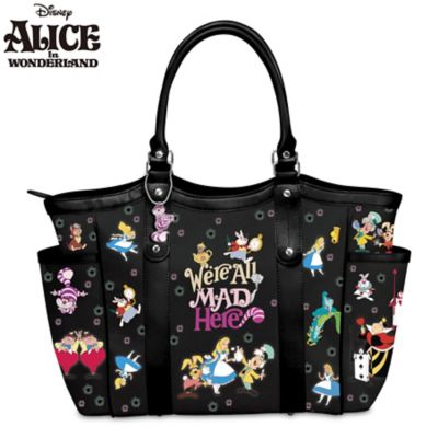 Disney We're All Mad Here Handbag