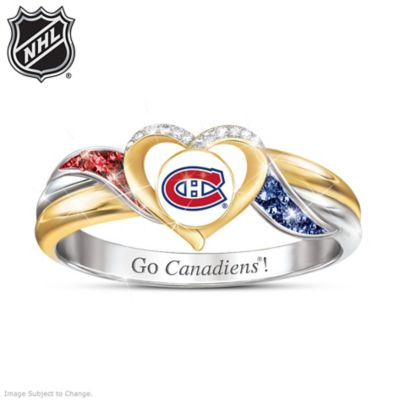 Montreal Canadiens® Pride Ring