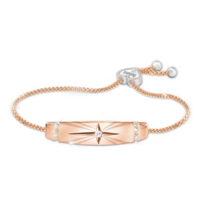 Trust In The Lord Women's Copper Bracelet