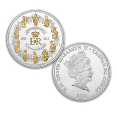 Queen Elizabeth II 65th Anniversary Coronation Coin
