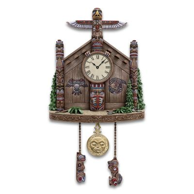 Legends Of The Haida Nation Cuckoo Clock