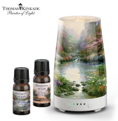 Thomas Kinkade Harmony Of Life Essential Oils Set