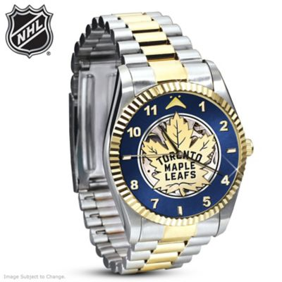 Toronto Maple Leafs® Men's Mechanical Watch