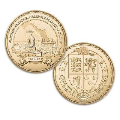 Canadian Heritage: The Halifax Explosion Proof Coin