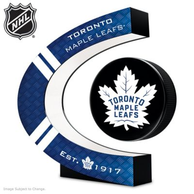 Toronto Maple Leafs® Levitating Puck Sculpture