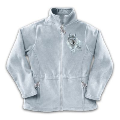 Spirit Of The Wilderness Women's Fleece Jacket