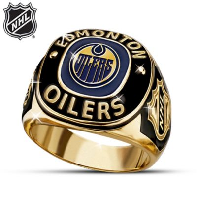 NHL® Edmonton Oilers® Ring