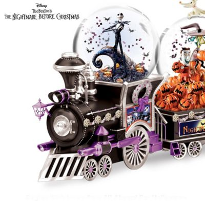 disney nightmare before christmas glitter globe collection - Nightmare Before Christmas Snow Globes