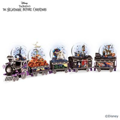 disney nightmare before christmas glitter globe collection