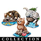 Jurgen Scholz Purr-fect Adventure Figurine Collection