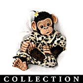 Love To Be Cuddled Monkey Doll Collection