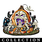 Haunted Pumpkin Sculpture Collection