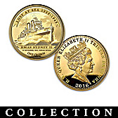 Lost At Sea World War II Gold Crown Coin Collection