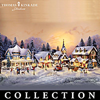 Thomas Kinkade\'s Village Christmas Collection