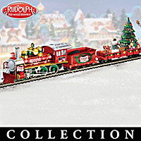 Rudolph\'s Christmas Town Express Train Collection