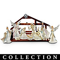 Silver Blessings Nativity Collection