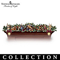 Thomas Kinkade Nativity Garland Collection