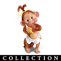 Just A Little Monkey Business Figurine Collection