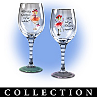 Dolly Mama\'s Happy Hour Glassware Collection: Sets Of Two