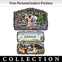 Cozy Companions Welcome Sign Collection