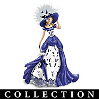 The Blue Willow Lady Figurine Collection