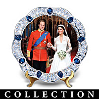 William And Kate: A Royal Union Collector Plate Collection
