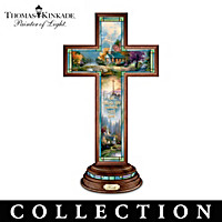 Thomas Kinkade Light Of Faith Cross Collection