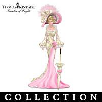 Thomas Kinkade Laced With Hope Figurine Collection