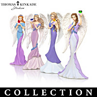 Thomas Kinkade Angels Of Caring Figurine Collection