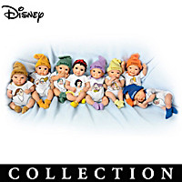 Disney\'s Snow White And The Seven Dwarfs Doll Collection