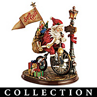 Santa\'s Race Against Time Figurine Collection