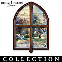 Thomas Kinkade Windows Of Prayer Collector Plate Collection