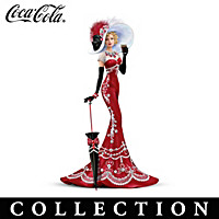 Crystal Beauties Of COCA-COLA Figurine Collection