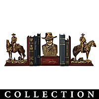 John Wayne: American Hero Bookends Collection