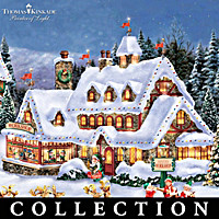Thomas Kinkade North Pole Village Collection