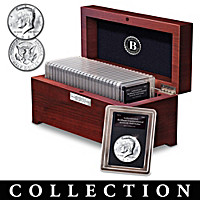 50th Anniversary Kennedy Silver Half Dollar Coin Collection