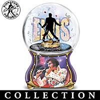 Elvis: Burning Love Glitter Globe Collection