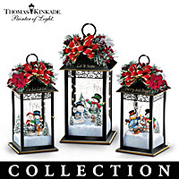 Sparkling Snowfall Table Centrepiece Collection