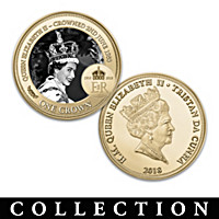 Queen Elizabeth II 65th Anniversary Coin Collection