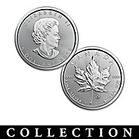 $5 Silver Maple Leaf 30th Anniversary Coin Collection