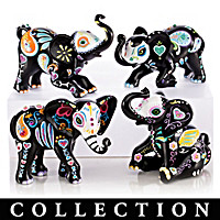 Blake Jensen Soulful Spirits Elephant Figurine Collection