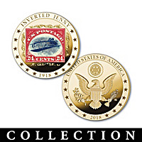 The World\'s Rarest Stamps Golden Proof Coin Collection