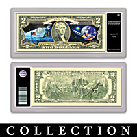 All-New U.S. Space Race $2 Bills Currency Collection