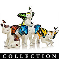 Wings Of Enchantment Elephant Figurine Collection