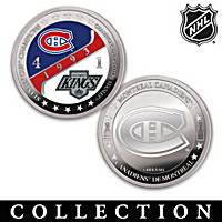 Montreal Canadiens® Championship Proof Coin Collection